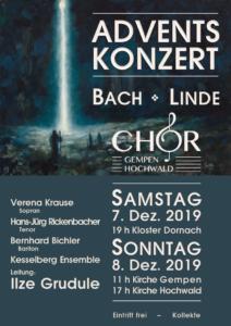 Adventskonzert: Bach/Linde @ Kloster Dornach